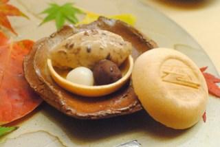 azuki bean ice cream, azuki paste, mochi