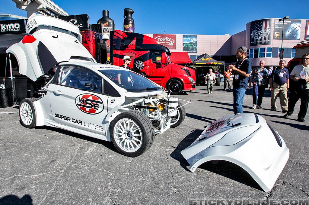 """Super Car Lites/Prototype Lites Rallycross car"" Tanner Whitten"