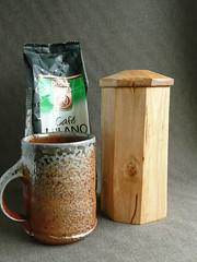 Shrink pot coffee can