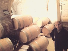 Marc Ripoll Sans and his cellar in Priorat