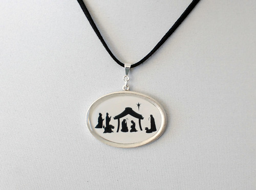 Nativity Pendant