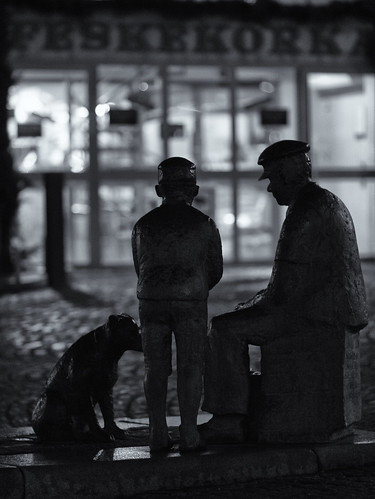 333/366 - A man, a boy and a dog by Flubie