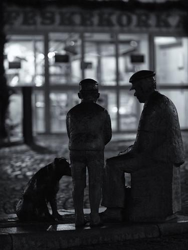 333/366 - A man, a boy and a dog by Flubie