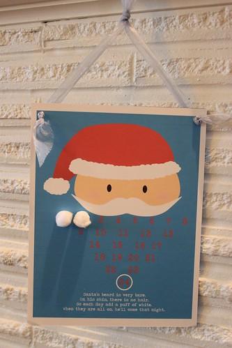 Santa's Beard advent calendar