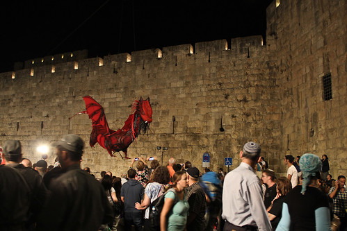 Knights in the Old City, Jerusalem