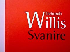 Deborah Willis, Svanire. Del Vecchio editore 2012. Grafica e impaginazione Dario Lucarini. Copertina (part.), 2