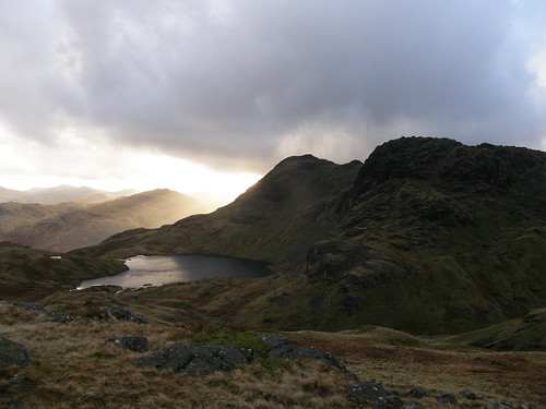 Stickle Tarn and Pavey Ark