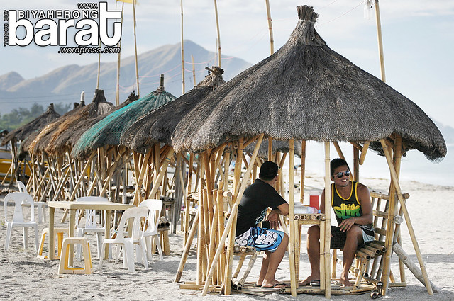 huts in crystal beach zambales san narciso