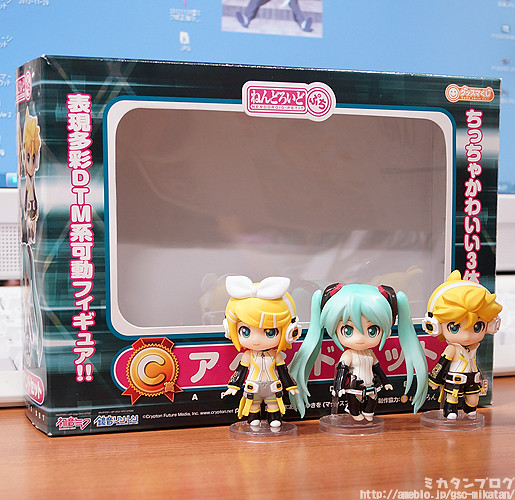 Nendoroid Petite: Miku, Rin, and Len Append set
