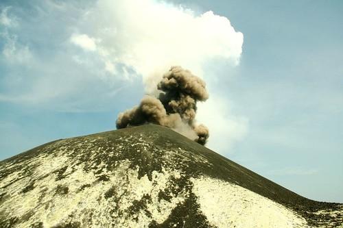 Krakatau Explosion