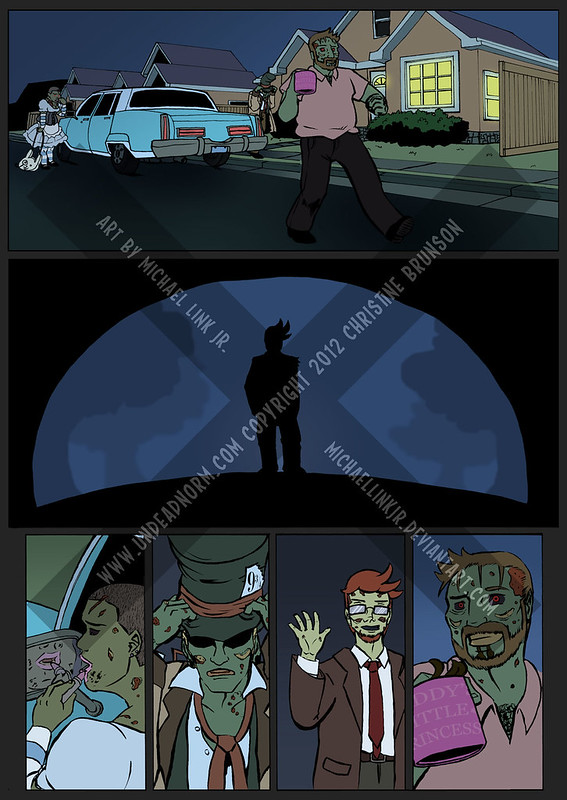 Undead Norm: What Happened to Brody? Page 8