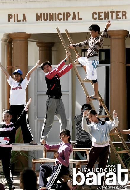 students of Liceo de Pila Laguna