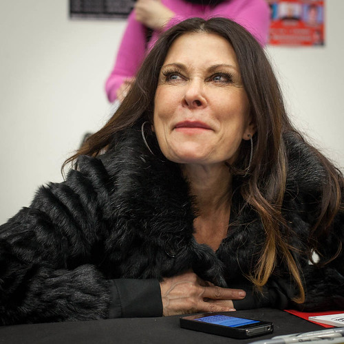 Jane Badler at SciFiWorld, Stockholm