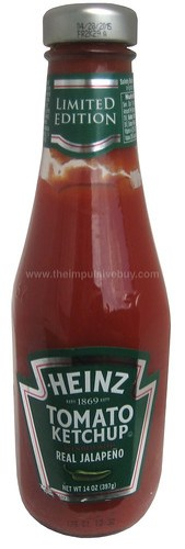 Heinz Tomato Ketchup Blended With Real Jalapeno