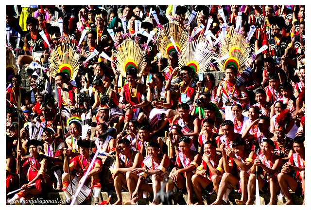 Colorful tribes of Nagaland, Hornbill festival 2012