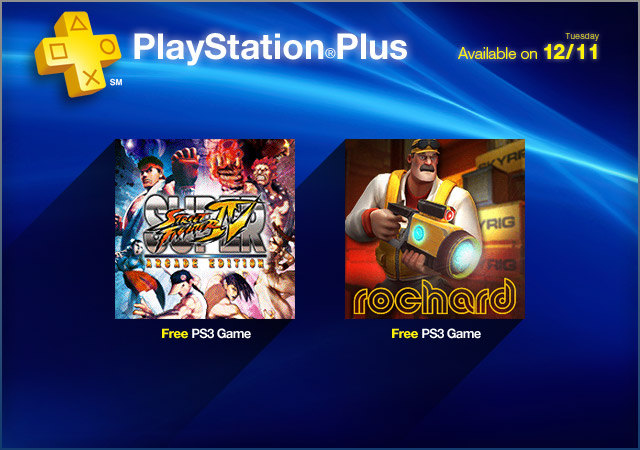 PlayStation Store Update 12-11-2012