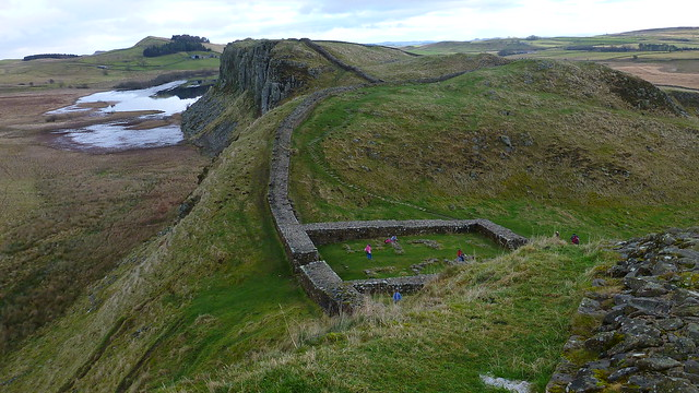 Hadrians Wall, Crag Lough, Milecastle 39