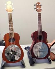 Beard concert size resonator ukuleles
