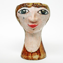 Jo Caddy. Head vase