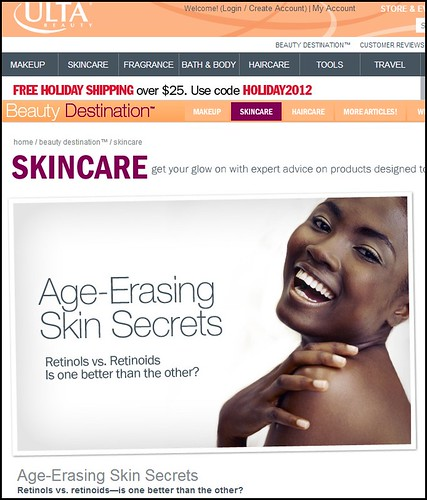 Dr. Joel Schlessinger featured as an expert on Ulta.com