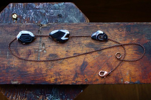 black agate & copper by denise carbonell