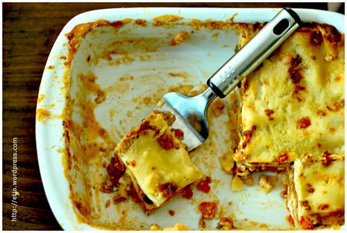 Lasagna Semalam