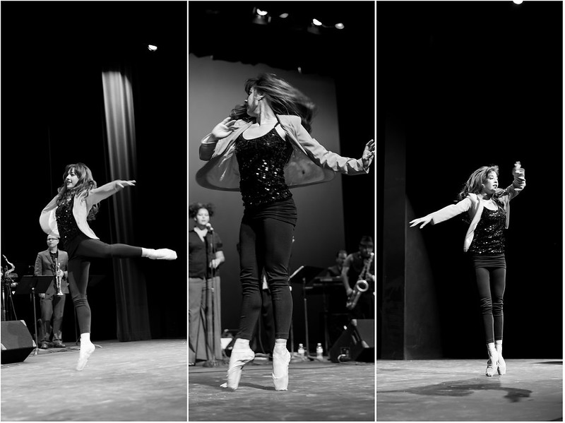 Strength underneath beauty, dancing girl