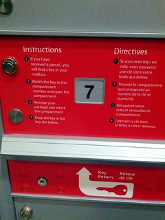 Canada Post Parcel Locker Instructions