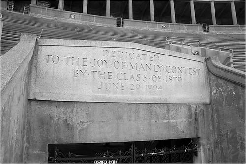 Harvard Stadium Dedication 1903