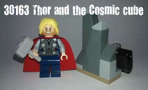 LEGO Avengers Super Heroes Recenzja 30163 Thor and the Cosmic Cube