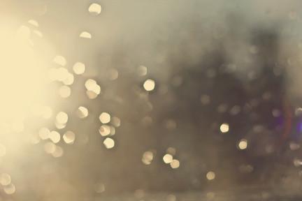 raindrops full of sunshine