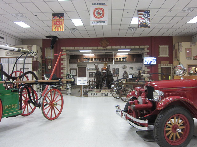 Inside the Firefighters Museum