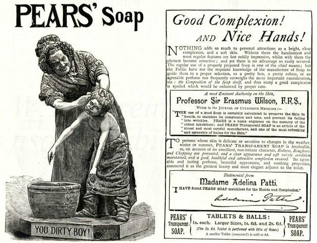 British advertisements -1889.