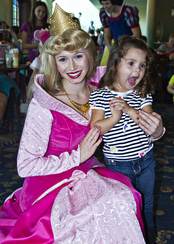 meeting princess aurora