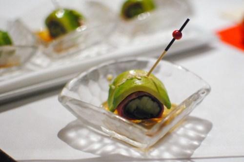 wagyu avocado rolls