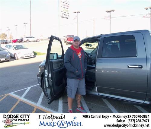 Congratulations to JOY RENEE JOHNSON 2012 DODGE RAM 1500 Crew Cab by Dodge City McKinney Texas