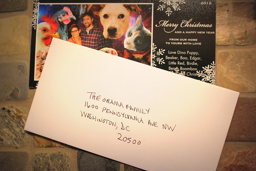 20121215. We had an extra card and couldn't figure out who to send it to.