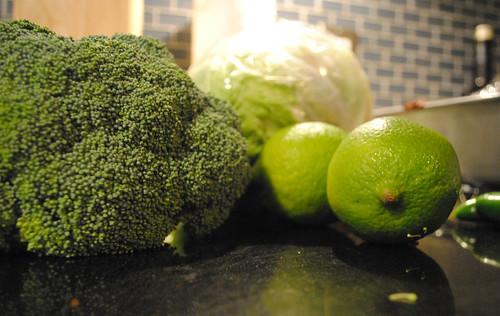 Broccoli and Lime
