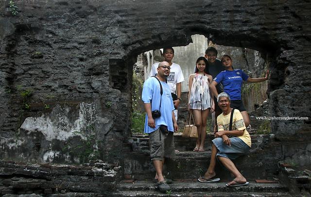With Asencion Bonoan in Museo de Bacarra Ilocos Norte