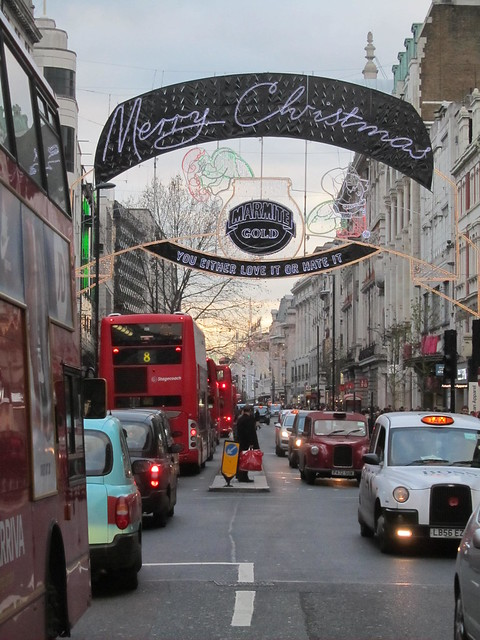 Christmas on Oxford Street