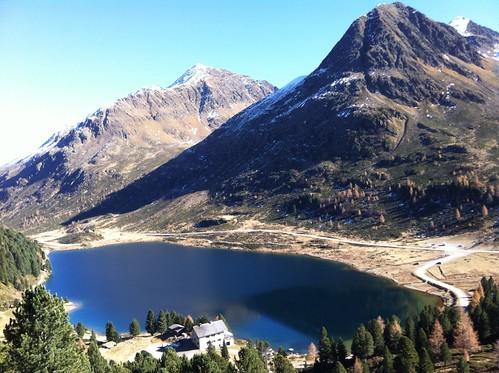 Abstieg Almerhorn, Obersee Hütte