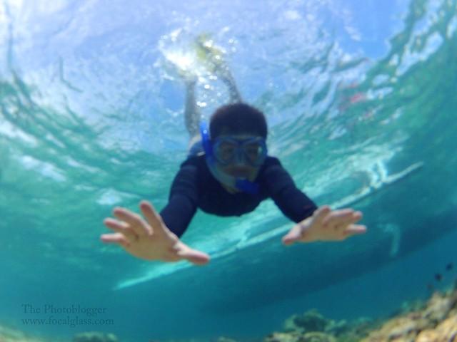 snorkeling attire