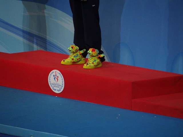 Guess who at the Istanbul 2012 World Champs