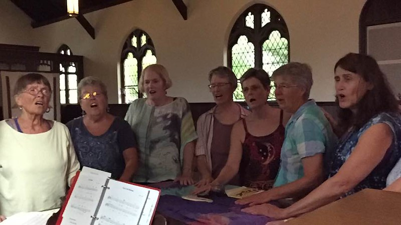 CNV Action Pawtucket RI 2016 - Singing for peace (3)
