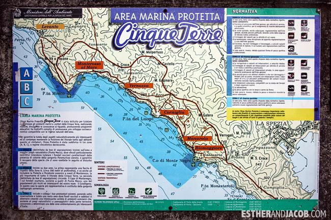 CinqueTerre: Hiking Blue Trail Sentiero Azzurro Cinque Terre Trails along the coast | What to Do in Cinque Terre Italy