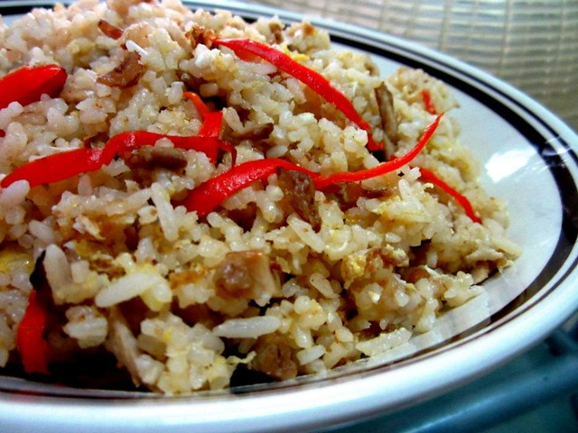Char siew fried rice
