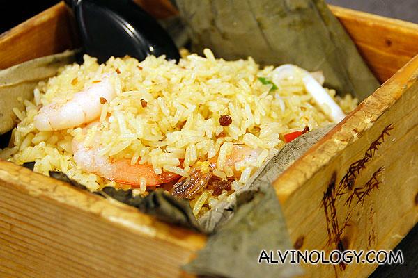 Yunnan-style sambal seafood fried rice