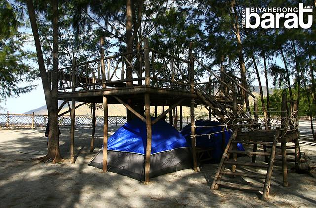 Puerto Silanguin Campsite cove san antonio zambales