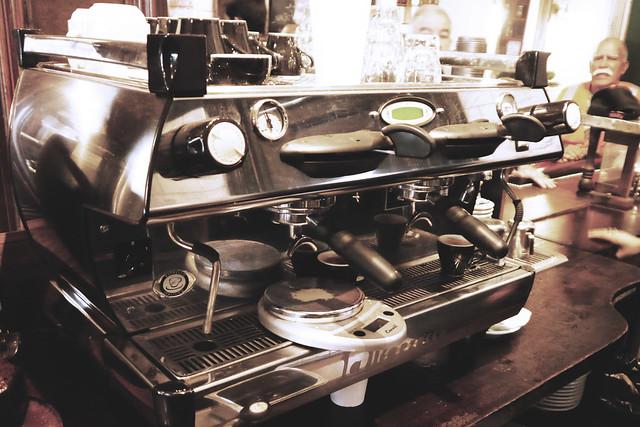 Sweetleaf Coffee serving espresso