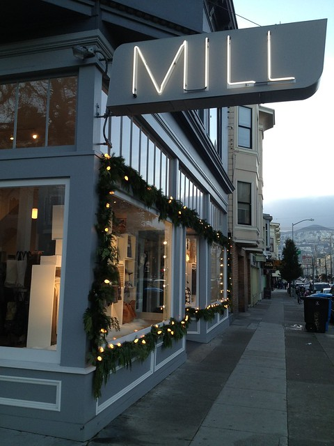 Mill holiday windows